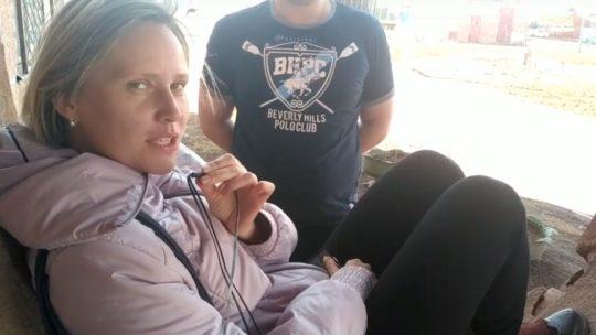 Опасное благоустройство в Бикее
