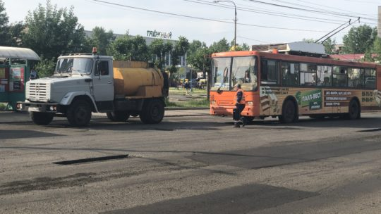 Сколько можно латать улицу Комсомольскую в Братске?