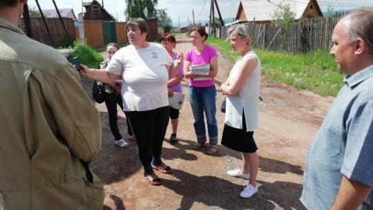 Отъем земли у дачников в Братске: уже началось