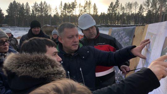 Новый глава Приангарья Игорь Кобзев: первый рабочий день в Тулуне