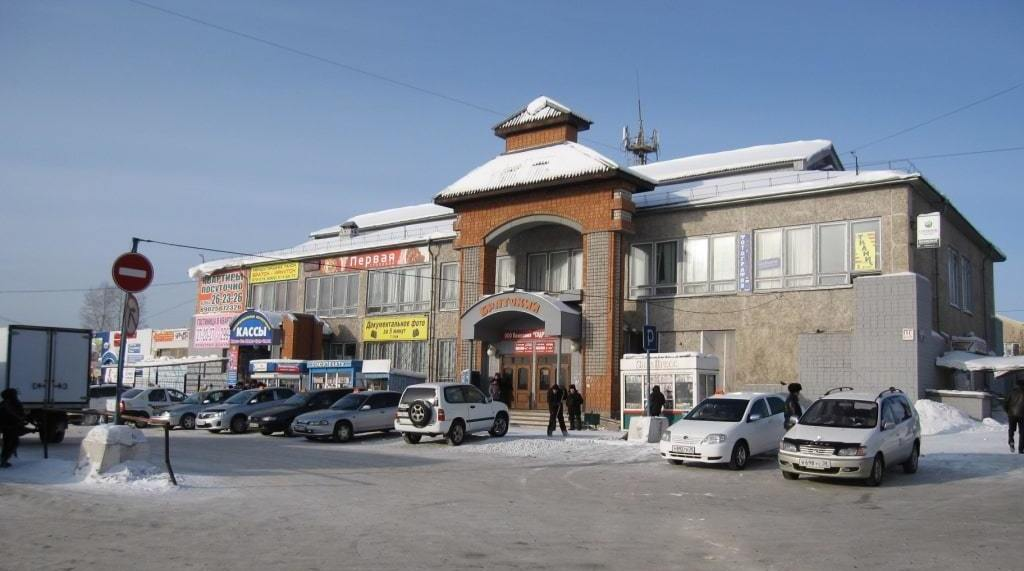 Здание автостанции Братска пустят с молотка