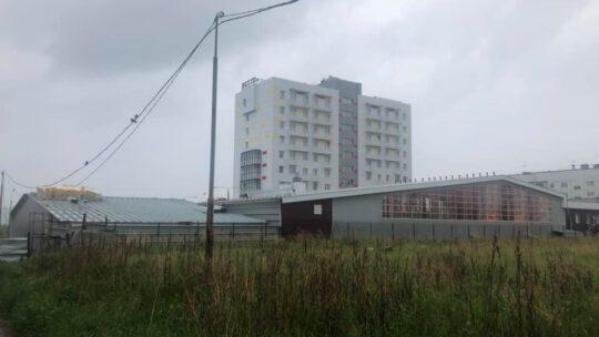 В 18 микрорайоне Братска строится банный комплекс. На очереди аквапарк