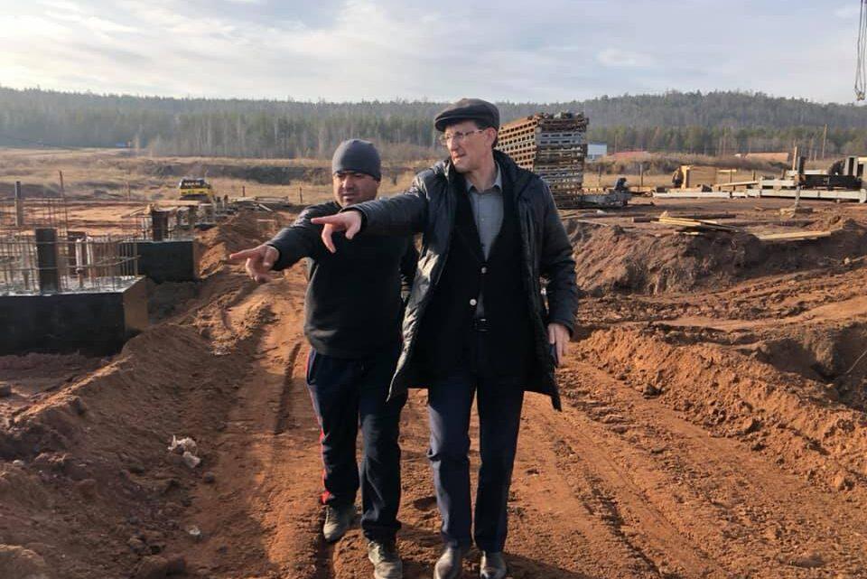 В Кузнецовке строят мельницу